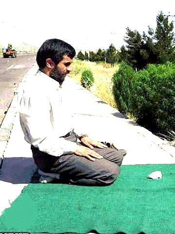 نماز ِ یک بی نماز!